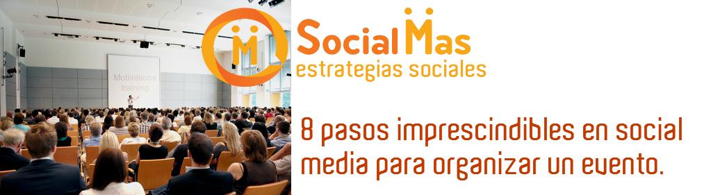 social mas eventos 8 pasos